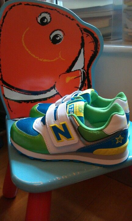 New Balance shoes for my lovely monkey boy