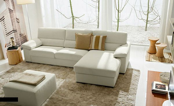 Living room elegant living room design in white shades available white sofa sets with cushion also pouffe white laminating floor with white synthetic