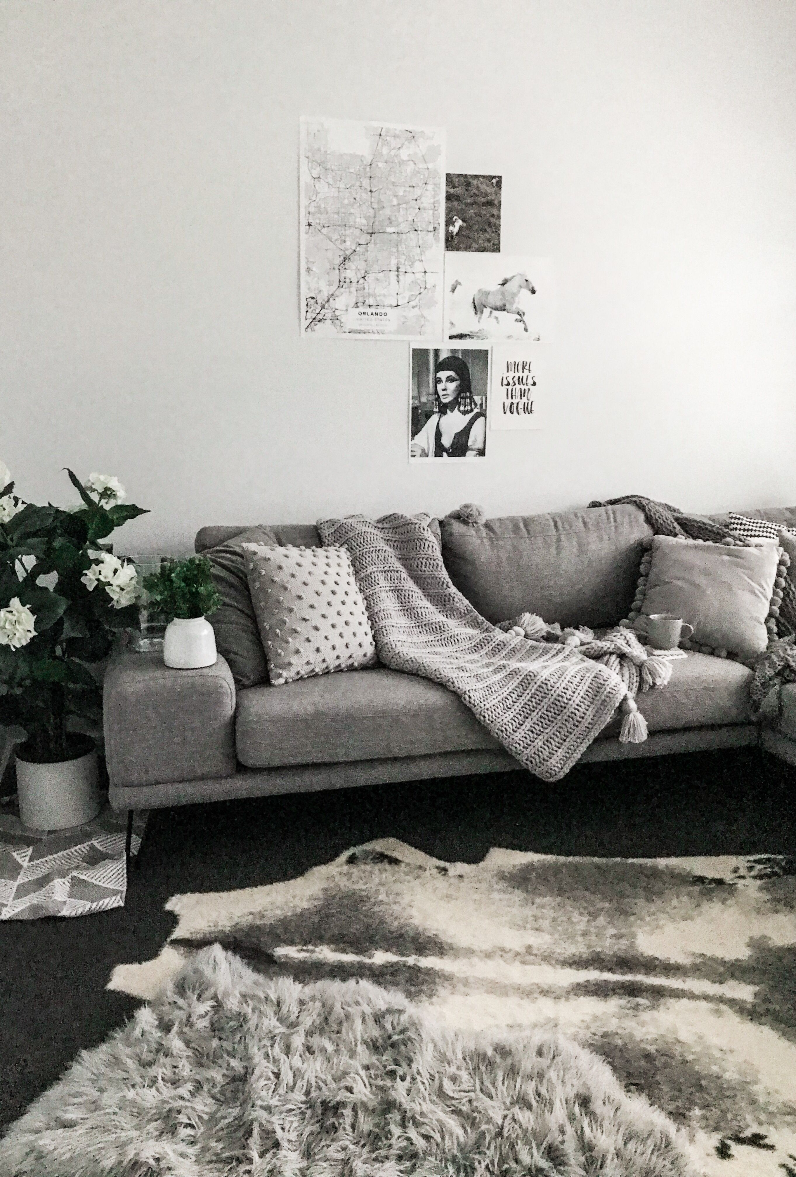 Textured Cushions Couch Throw Blanket