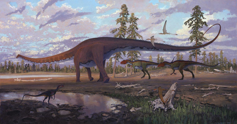 Resultado de imagem para diplodocus paleoart