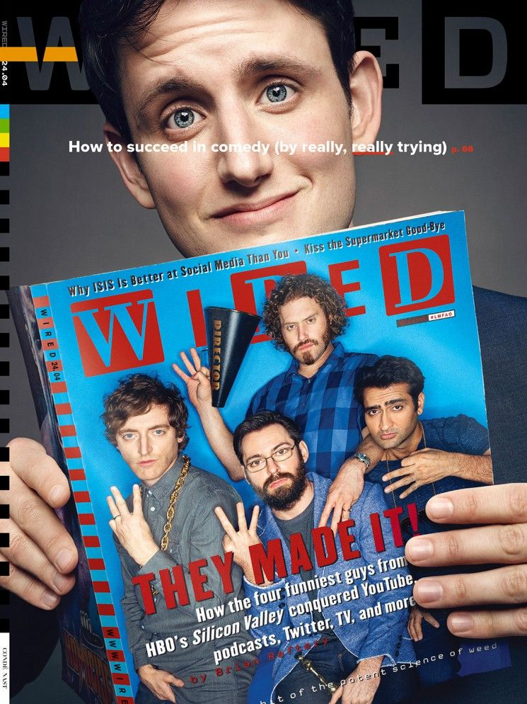 Art Streiber_Silicon Valley_Wired cover 3 | TV Shows | Pinterest ...