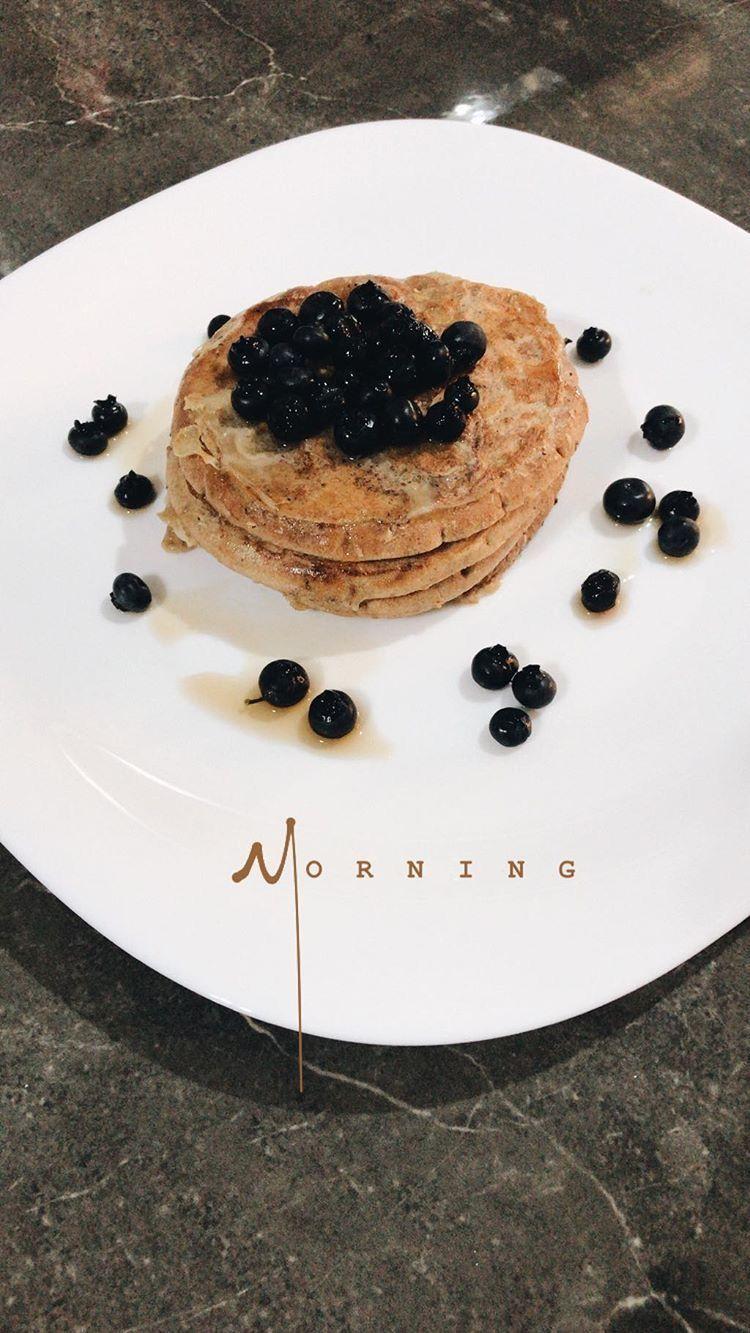 #food #breakfast #instagram #pancakes #healthy #fitness #comida #receta #saludable #delicious