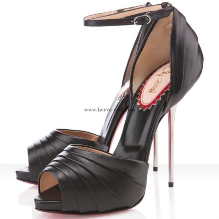 HIGH HEELS, PUMPS, Schuhe schwarz mit roter Sohle von Super