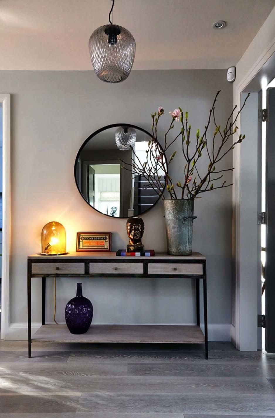 Welcoming Family Home In London With Scandinavian Influences Hallway Designs Console Table Hallway Hallway Console