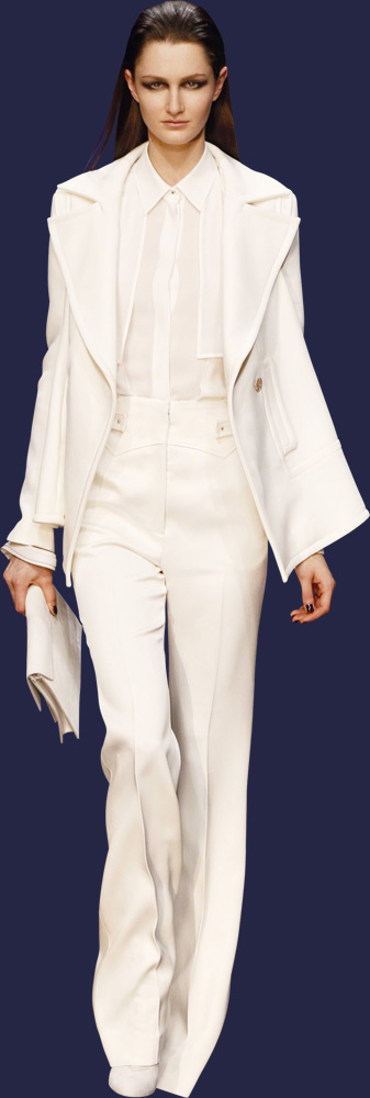 #ELIE SAAB - Ready-to-Wear - Fall Winter 2013-2014 #All White