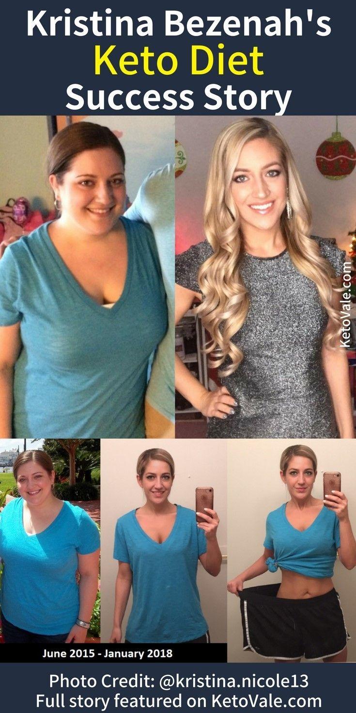Kristina Bezenah's Keto Success Story | Pinterest | Keto, Success and Weight loss