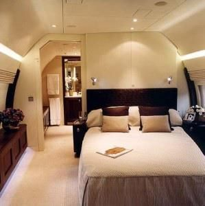 Private Jet Bedroom!