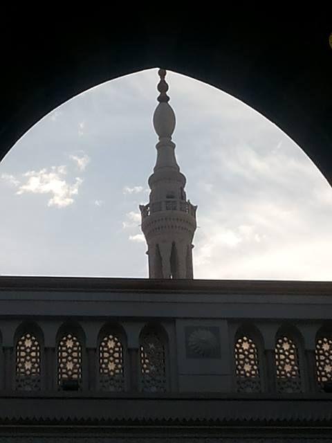 من داخل المسجد النبوي