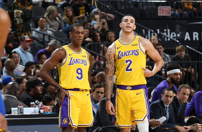 Los Angeles Lakers What Needs To Be Done With Lonzo Ball Rajon Rondo Los Angeles Lakers Lonzo Ball Lakers