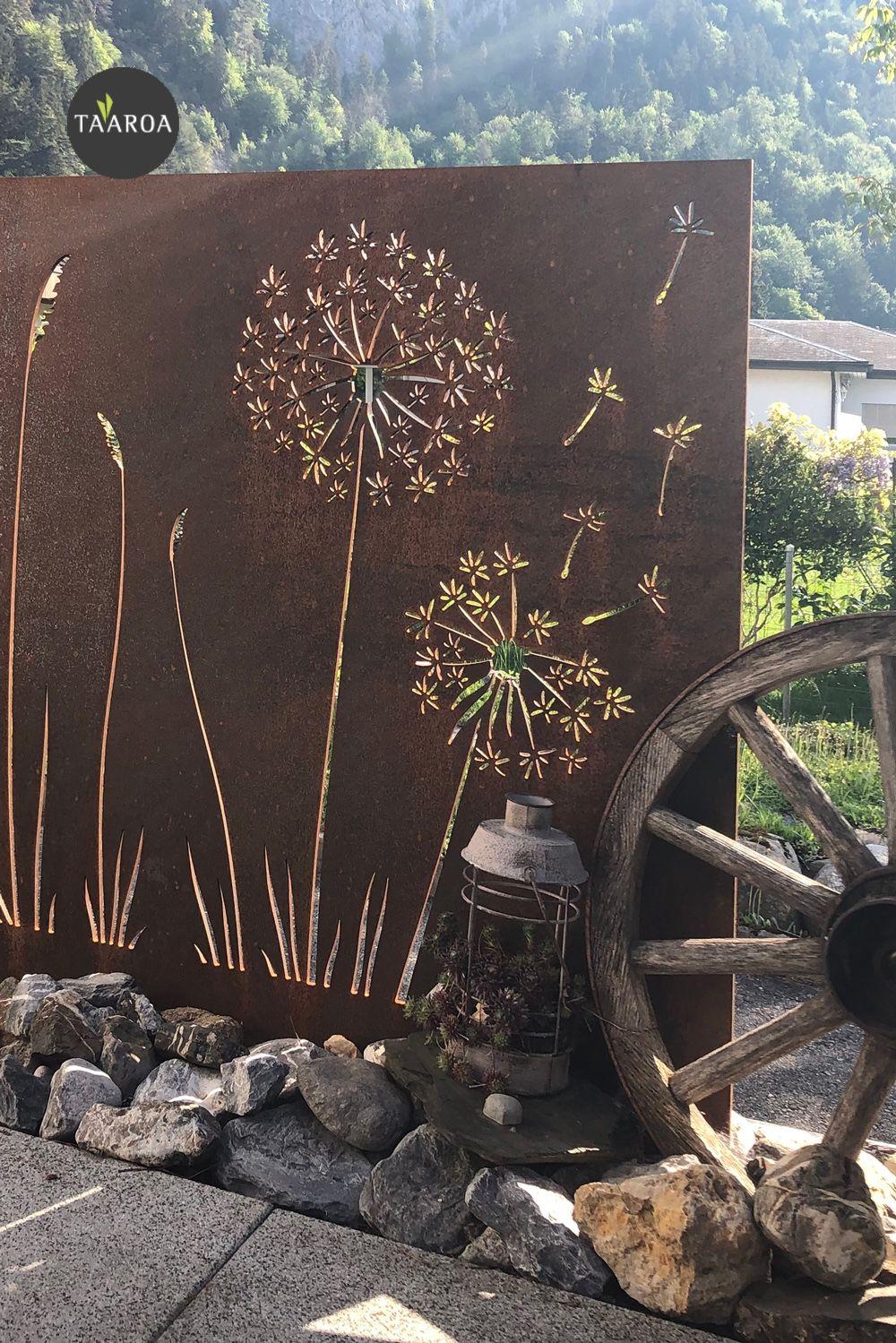 Pin Von Taaroagarten Auf Muro Sichtschutzwande Sichtschutzwand Garten Sichtschutzzaun Garten Larmschutzwand Garten