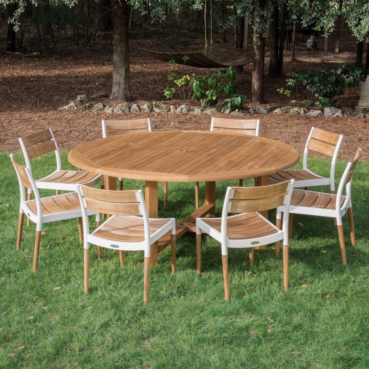 Buckingham Teak Table Westminster Teak Outdoor Furniture Sets