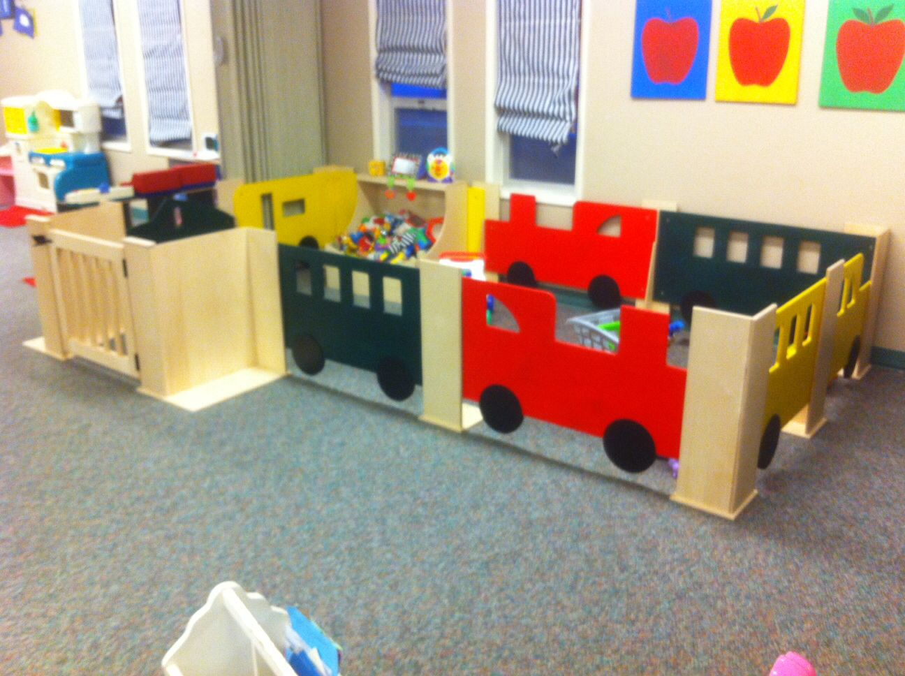 Baby Gate Play Area Daycare Ideas In 2019 Baby Gate