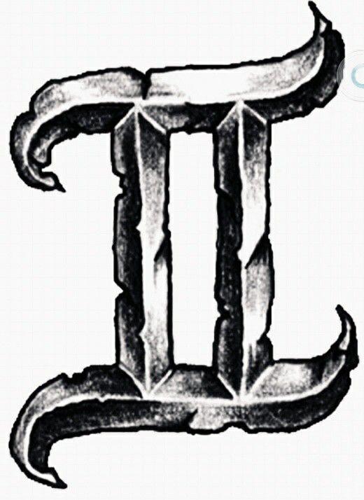 Gemeaux | tattoos | Gemini zodiac tattoos, Gemini sign