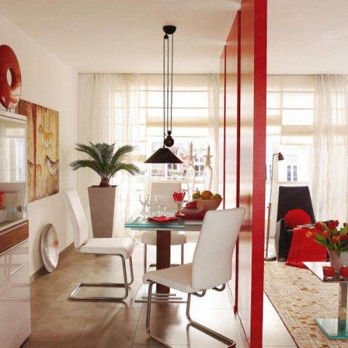 Decoraci n de interiores combinar sala y comedor ideas - Comedores pequenos decoracion ...