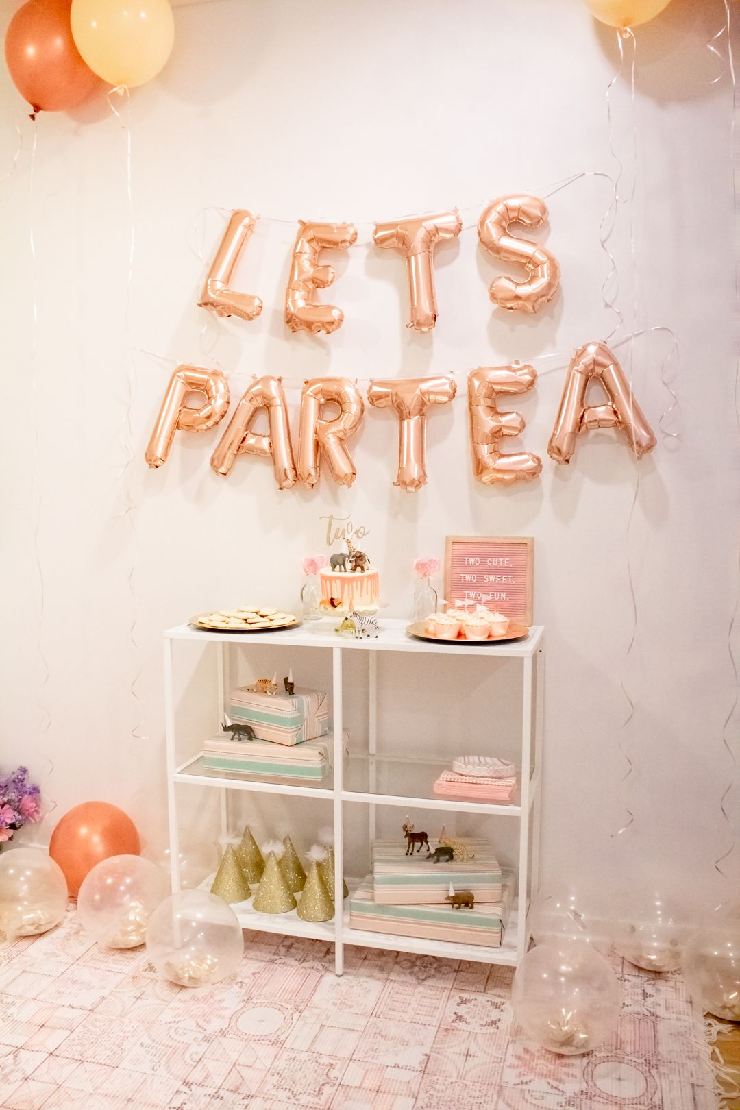 Animal Par Tea For Everley S 2nd Birthday Toddler Tea Party