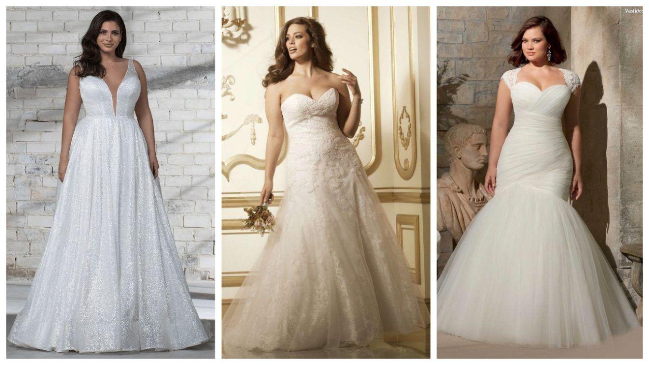 Vestidos de boda para gorditas ¡+25 modelos para lucir hermosa en tu gran día!