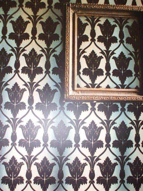 Sherlock Living Room Wallpaper With
