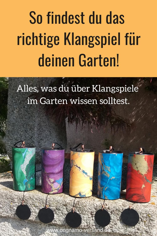 So Finden Sie Das Richtige Klangspiel Fur Den Garten Ongnamo Blog In 2020 Klangspiel Klang Spiele