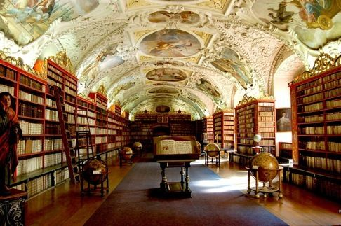 Library in ... Czech Republic or Germany?