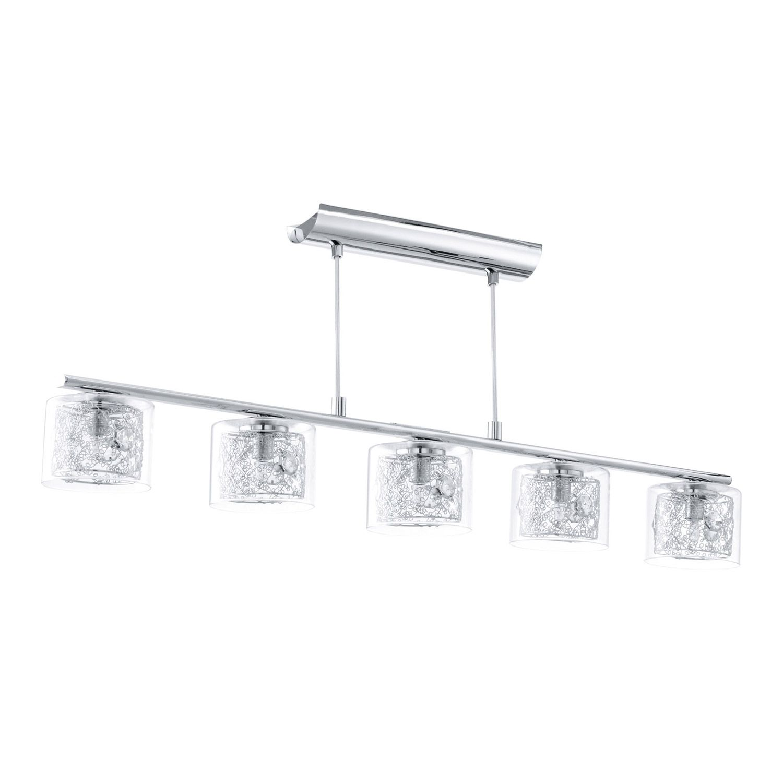Leroy Merlin Suspension Pianella Eglo Chrome 4x40 Watts 129 Luminaire Eclairage Cuisine Suspension Luminaire