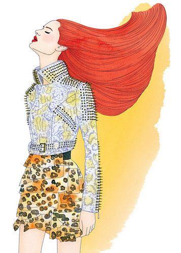 Missy McCullough Fashion Illustrations