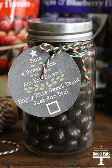Christmas Gift Tags: Free Printable- Grace and Good Eats