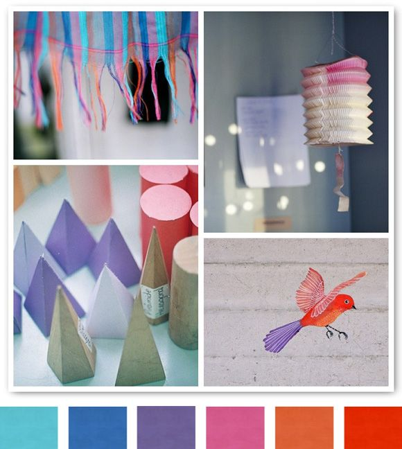 Fun color combinations!
