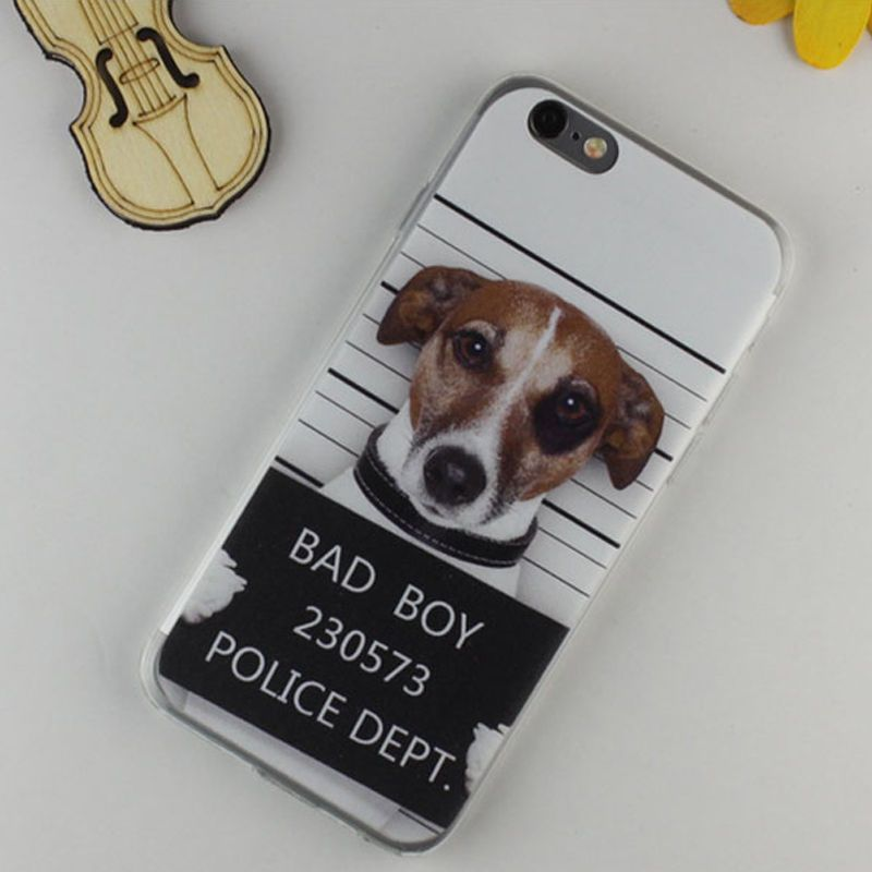 iphone 6 gel case dogs
