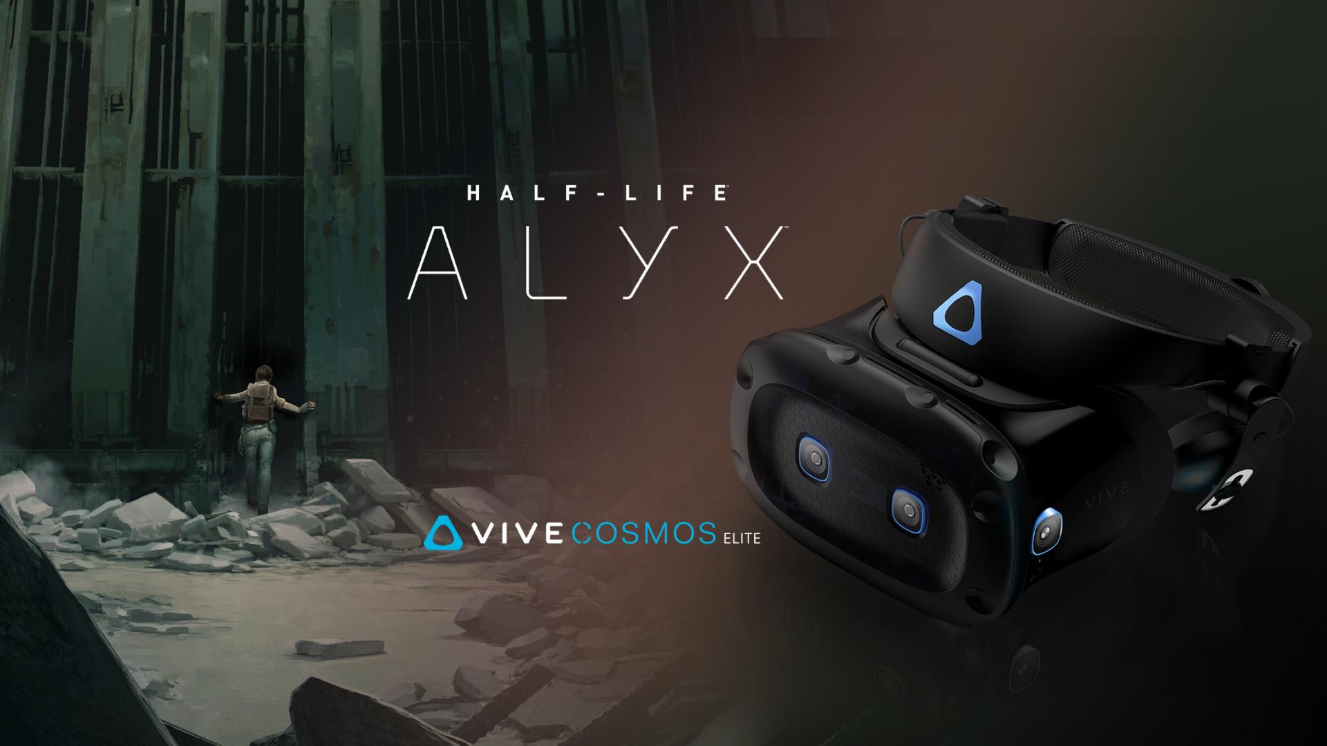 Htc تقدم نظارة Vive Cosmos Elite مع نسخة مجانية من Half Life Alyx Htc تقدم نظارة Vive Cosmos Elite مع نسخة مجانية من Htc Vive Half Life Virtual Reality Games