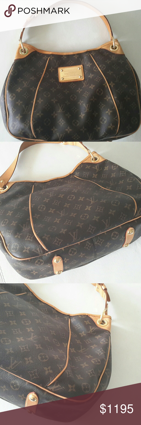 a83ca80720b Louis Vuitton Galleria PM Authentic date code SD1008 imprinted into ...
