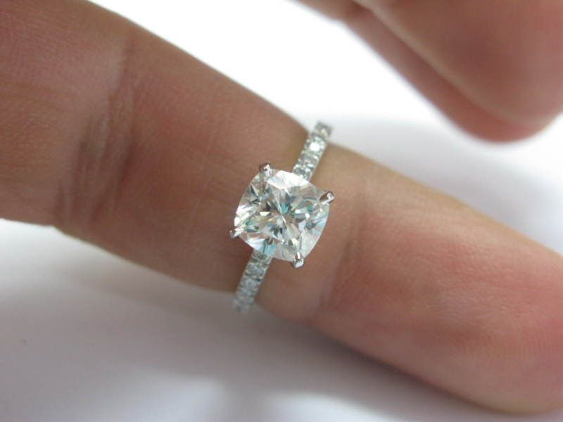 Tiffany Novo Cushion Cut Diamond This Is The One Hint Hint But