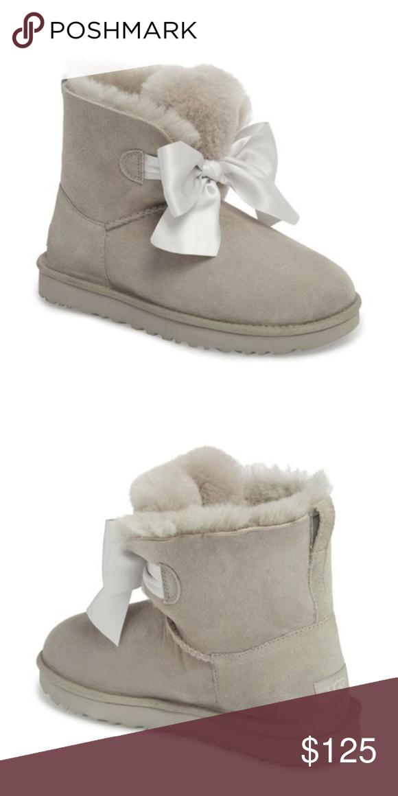 NEW UGG Mini Gita Bow Boot Women size 8
