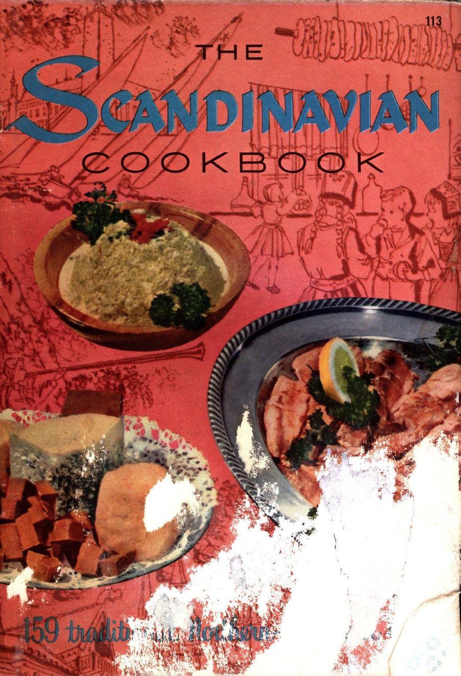 Scandinavian Cookbook Culinary Arts Institute 1956 Culinary Art Institute Wine Recipes Food