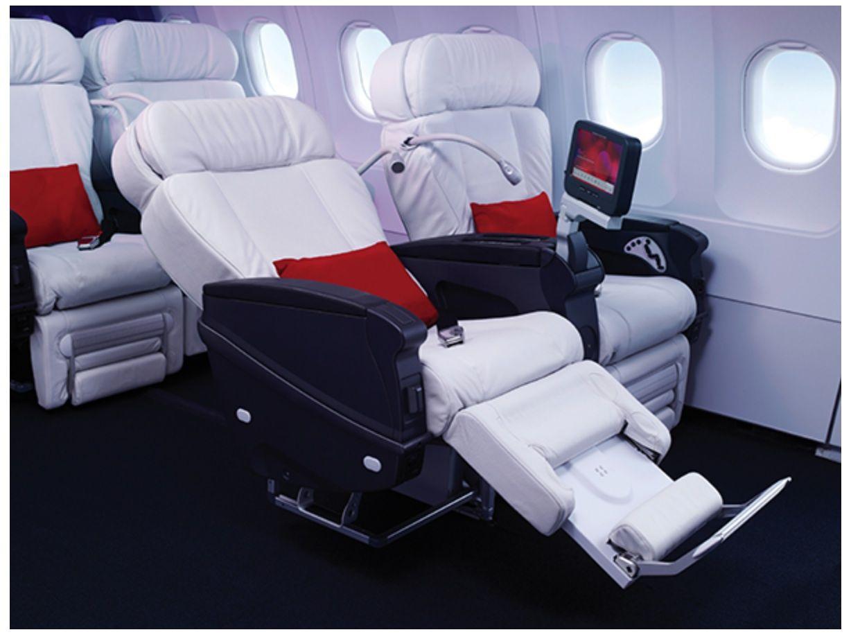 Virgin America Airbus A320200 First Class  First Class