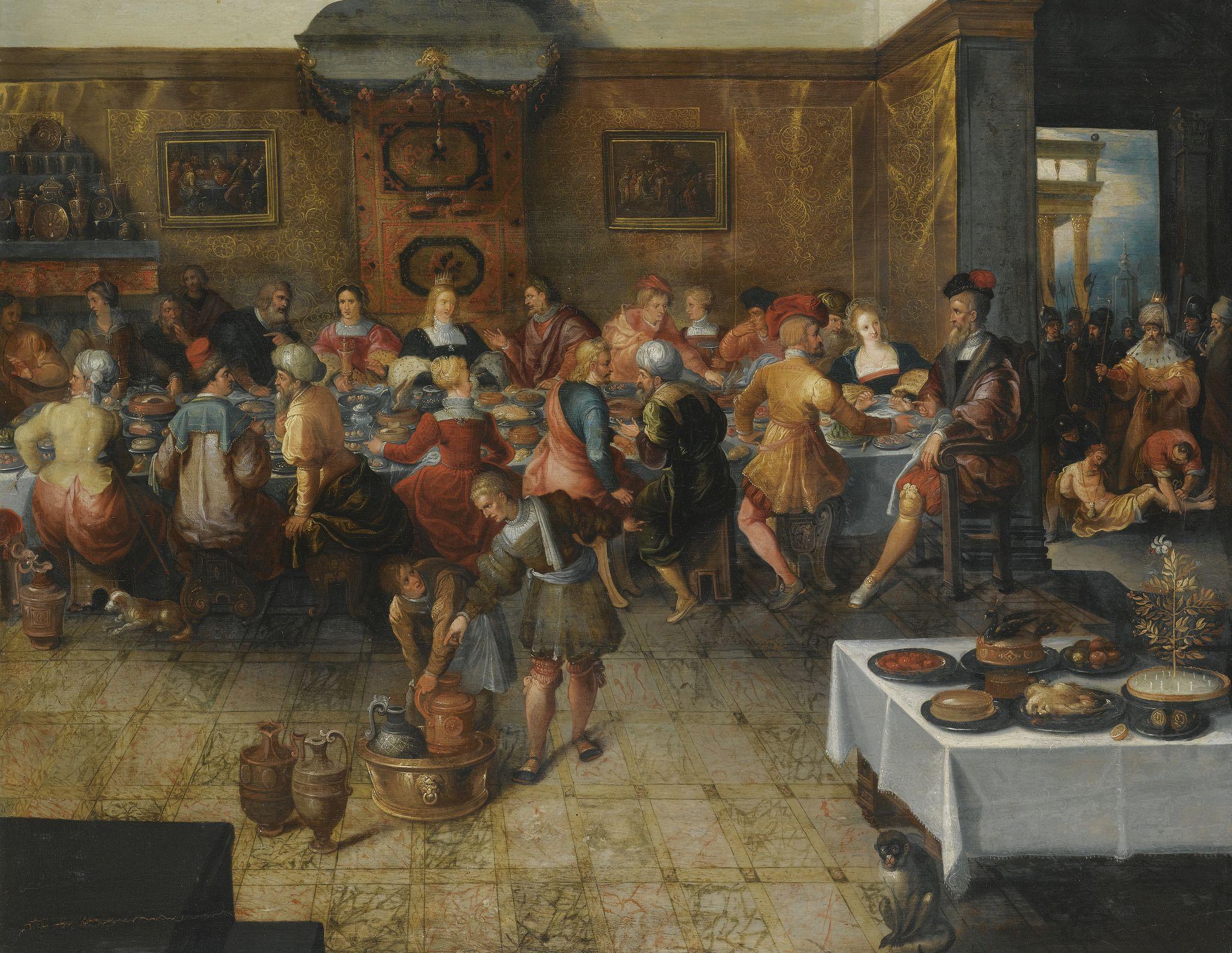 FRANS FRANCKEN II AND STUDIO ANTWERP 1581 1642 THE