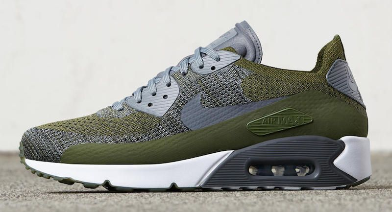 nike air max ultra flyknit olive