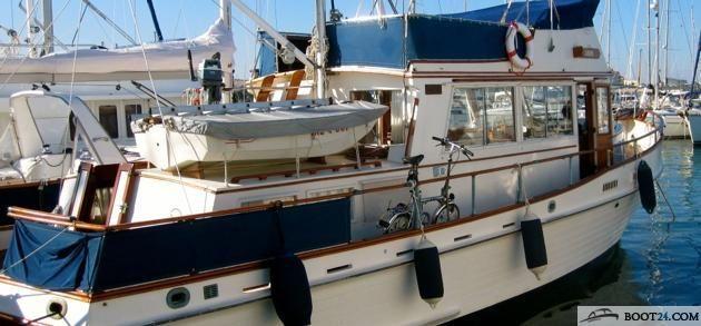 grand banks 42 classic motorboot gebraucht kaufen boot24. Black Bedroom Furniture Sets. Home Design Ideas