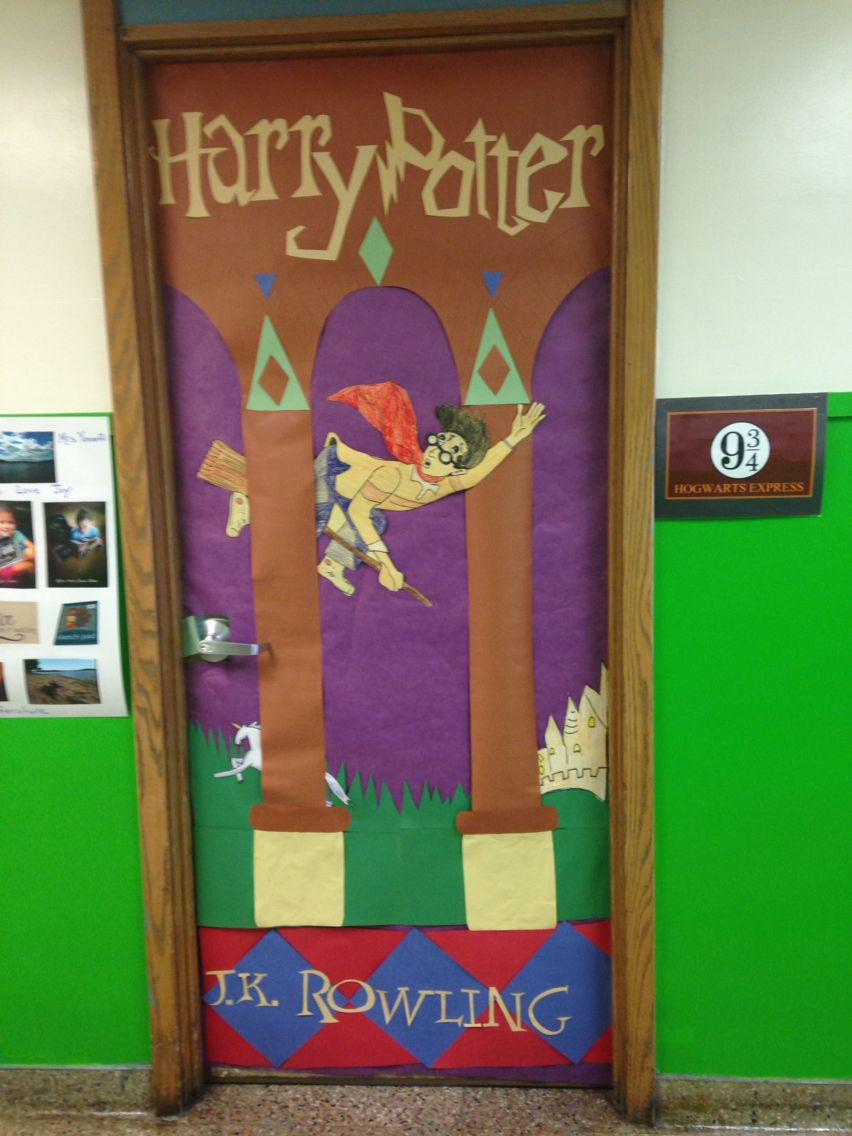 Harry Potter Classroom Door Decorations Decoration For Home