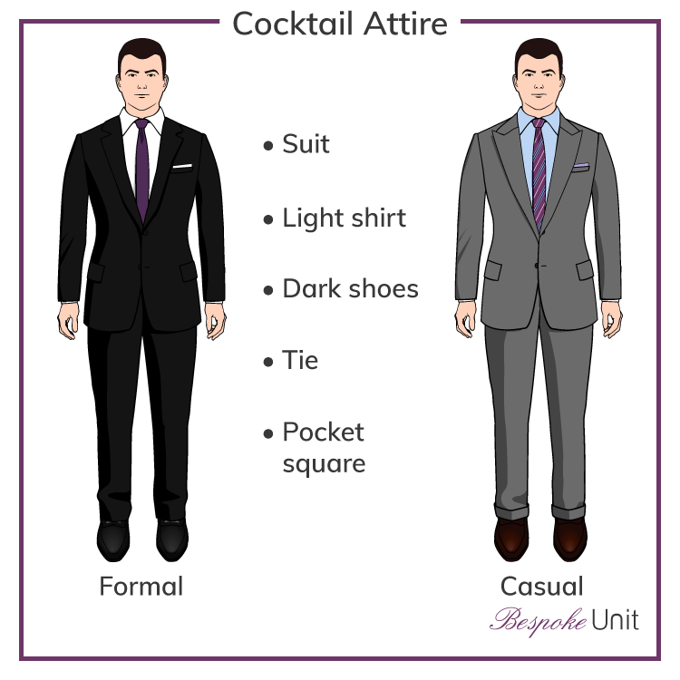 1804766924db Cocktail attire isn't a dress code often discussed amongst men, but it's  important to know how to dress for such an event. #1 guide to men's  cocktail attire