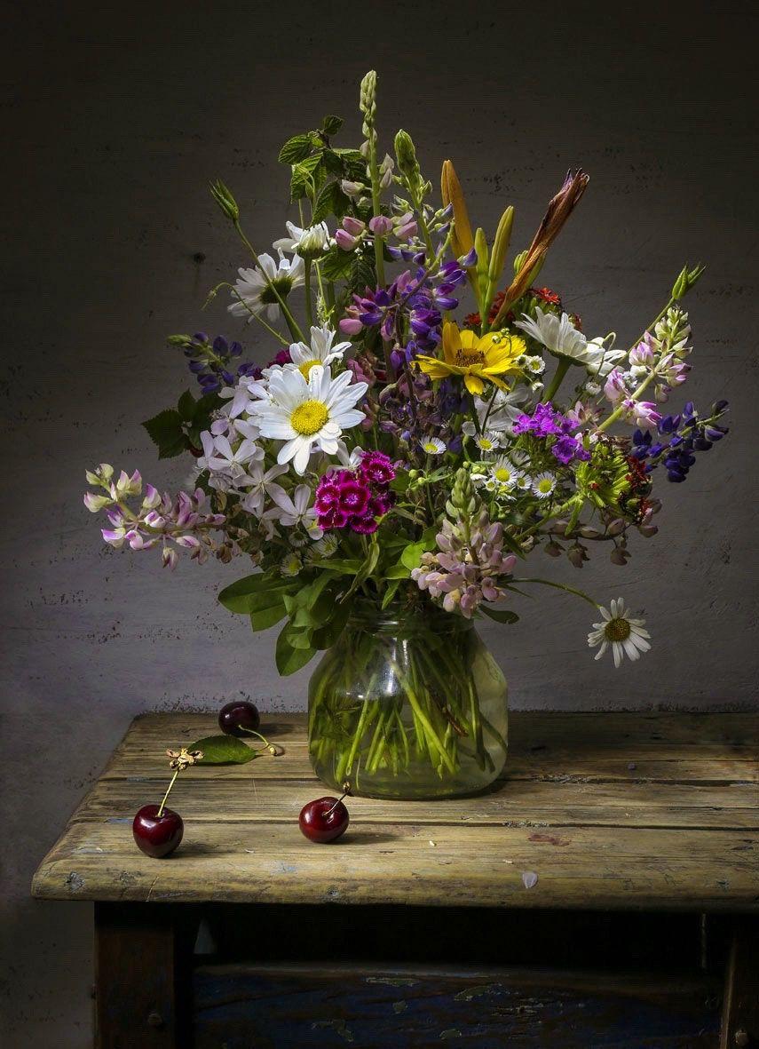 полевые цветы натюрморт фото прекрасна только
