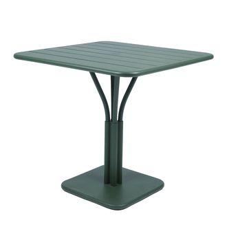 Table de jardin Carrée Aluminium 80x80cm LUXEMBOURG Fermob Cèdre ...