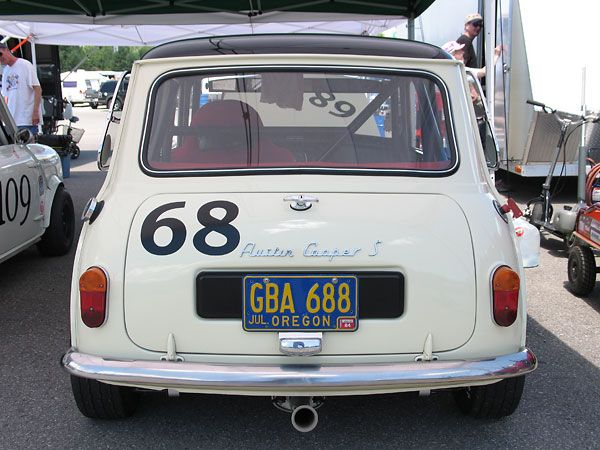 rachel nelson 39 s 1965 austin mini cooper s racecar number 68 mini pinterest classic mini. Black Bedroom Furniture Sets. Home Design Ideas