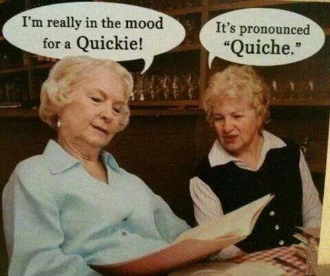 Quickie quiche!
