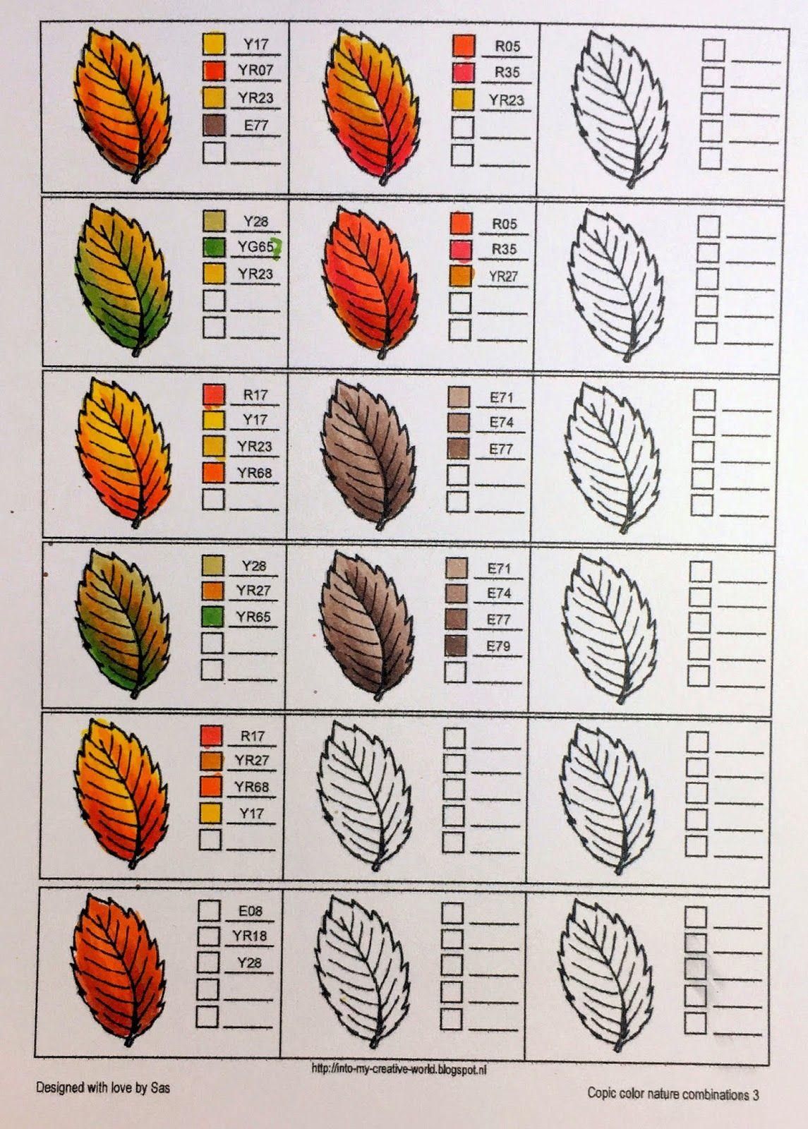 Creadin Copic Color Booklet