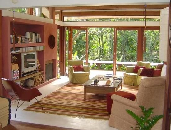 Simple Design In The Living Room Modern Tropical I Surprisingly Love This I Don T Usually Do Modern Tropical Living Room Tropical Living Living Room Style