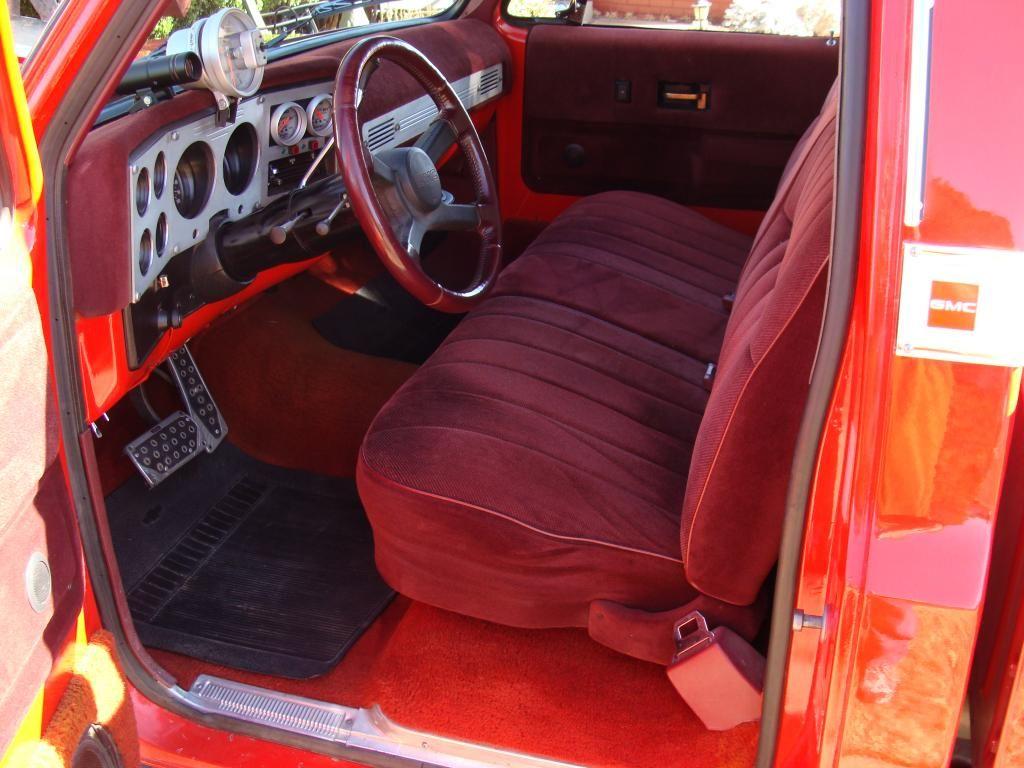 1975 Chevy C10 Pro Street Truck Interior View Thru Driver Side Truck Interior Chevy C10 Car Seats