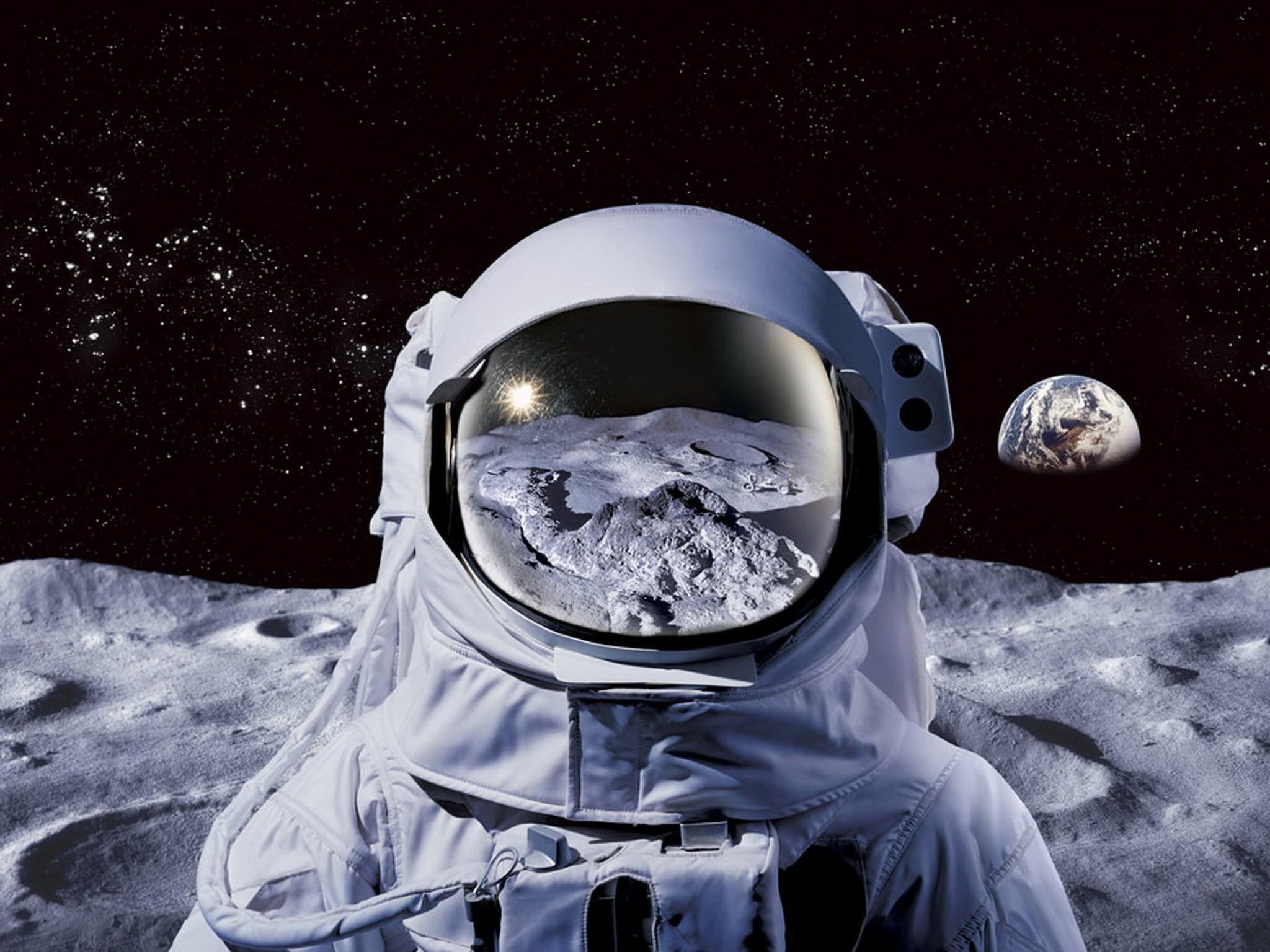 Обои скафандр, шлем, космонавт, astronaut. Игры foto 15