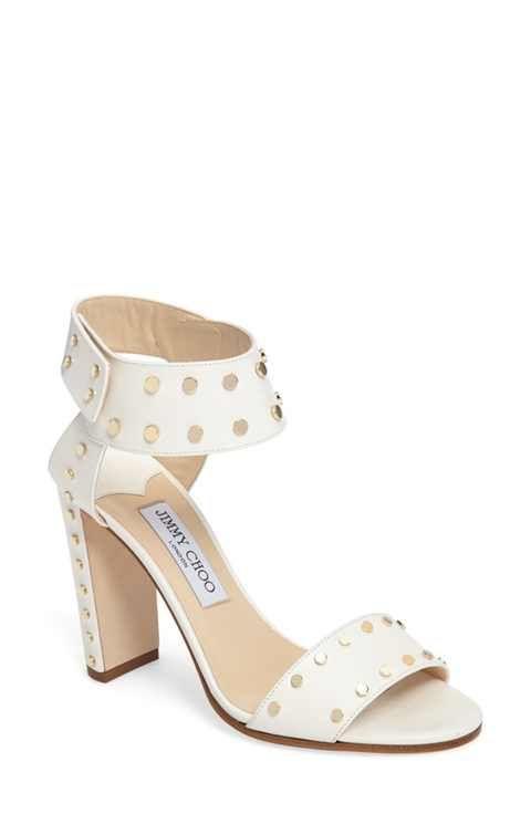 2fbbd55fde37 Jimmy Choo Veto Studded Ankle Cuff Sandal (Women)