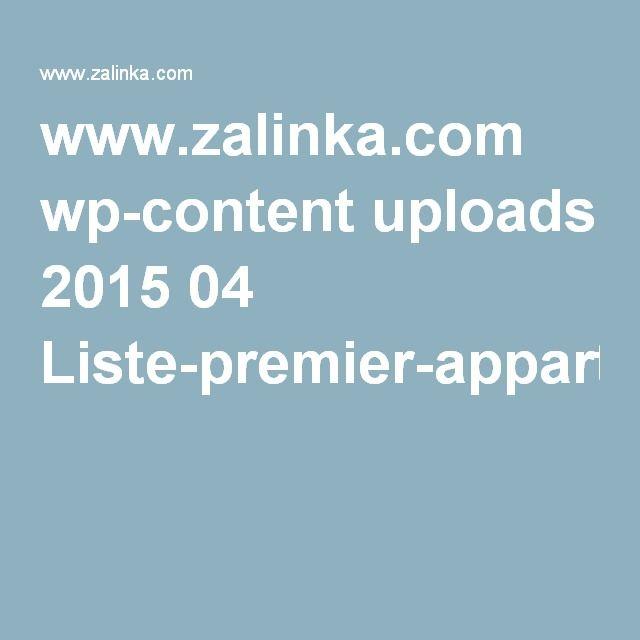www zalinka com wp content uploads 2015 04 liste premier appartement