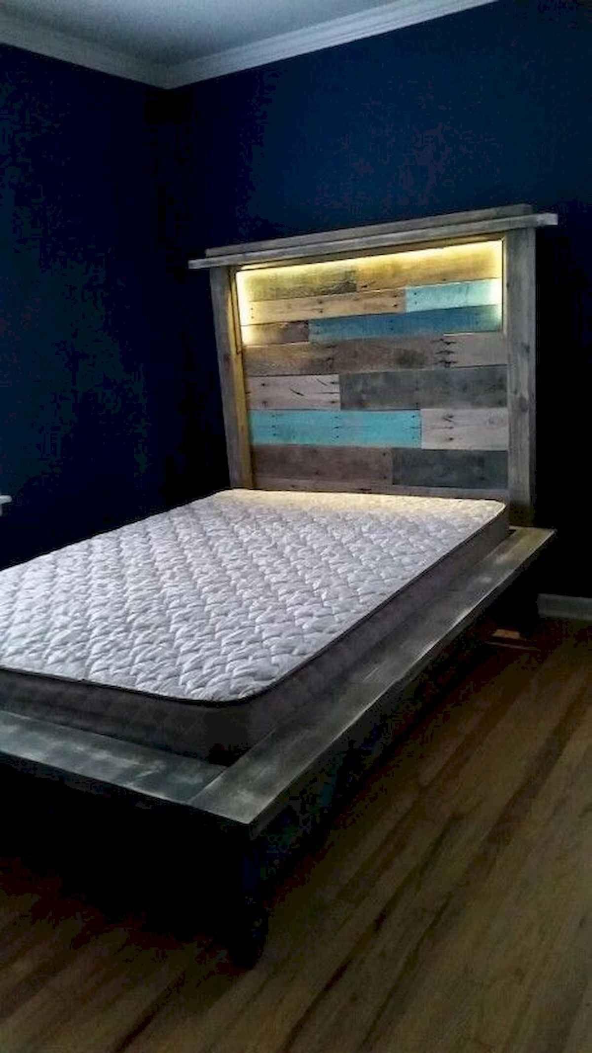 31 Wonderful Creative Diy Projects Pallet Headboards Bedroom